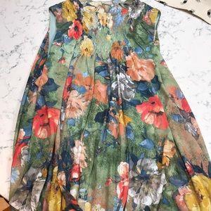 Anthropology Deletta sleeveless Tunic  XL